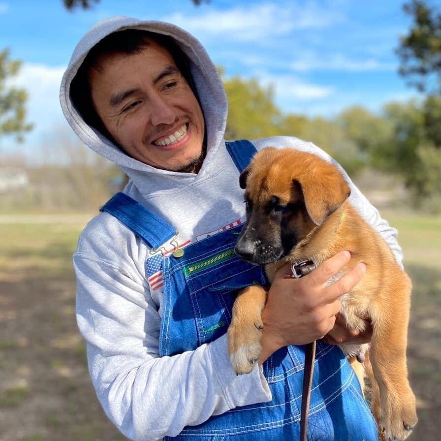 Will & Puppy